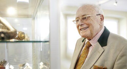 Interview mit Erfolgsunternehmer Reinhold Würth