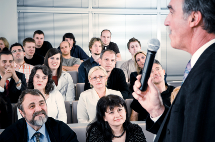 Wie schreibt man eine professionelle Rede?
