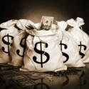 Dollar-Säcke