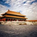 Bild von der verbotenen stadt in peking