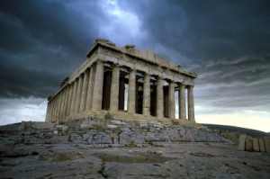 Parthenon in Athen