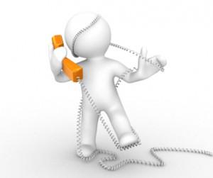 männchen welches im telefonkabel gefangen ist