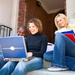 Studenten, Internet