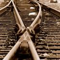 eisenbahn gleis zusammenführung