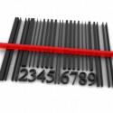 gescannter barcode