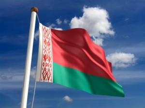 weissrussland flagge