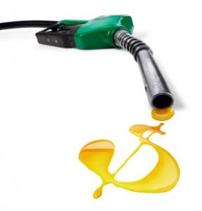 benzinhahn aus dem spritt in form eines dollar symbols