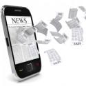smartphone aus dem zeitungsartikel fliegen