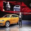 Audi präsentation in China