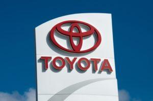 Toyota Schild