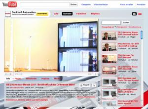 Beckhoff Automation YouTube Kanal 2012