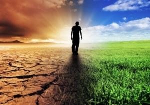 Ein Konzeptbild zum Klimawandel