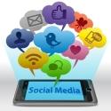 Socialmedia auf einem Smartphone
