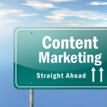 Highway Signpost Content Marketing