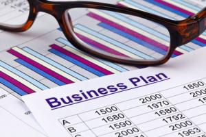 Geschäftsplan einer Betriebsstätte