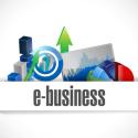 e-Business Economy Symbol Abbildung