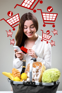 Online-Essen-Kaufen Kozept