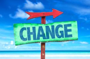 Veränderungsschild