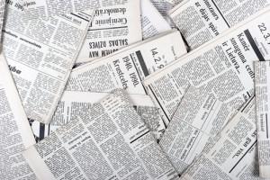 Vintage Zeitungen