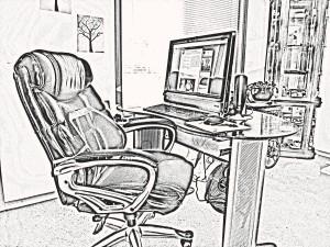 Viele Bürostühle sehen bequem aus, entsprechen des Öfteren aber dennoch nicht den individuellen Anforderungen des Berufstätigen. Bildquelle: © Jerrico Pixabay.com – (CC0 1.0)