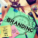 Marketing Konzept seiner Brand