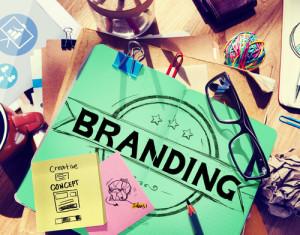 Marketing Konzept seiner Brand