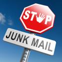 Stoppen sie Junk und Spam Mails