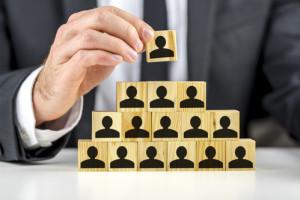 Rangordnungskonzept in einer Firma