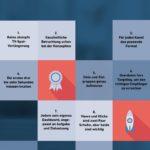 Die zehn Gebote digitaler Bewegtbild-Werbung als Infografik