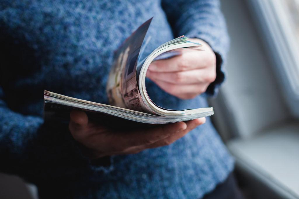 Print ist auch heute noch gefragt – gerade das Kundenmagazin bewährt sich nach wie vor als effektives Mittel für die gezielte Kundenbindung. Bildquelle: Fotolia