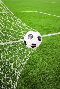 Fußball geht in Tor