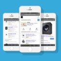 Online Shopping auf einem Iphone