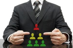 Firmen Hierarchie