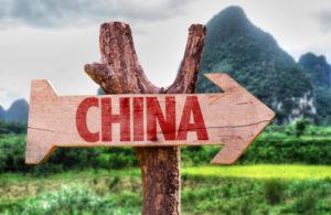 China Schild