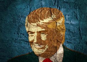 Donald Trump Wandmalerei