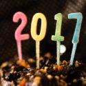 Stillleben des neuen Jahres 2017
