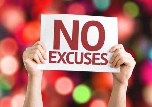 6 Tipps, die Ausreden überflüssig machen