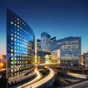 Moderne Firmengebäude