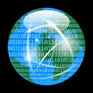 Digitalisierung des Planeten Erde