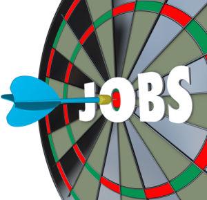Jobs Karriere Dartscheibe Dart Erfolgreiche Beschäftigung