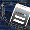 Linkedin auf einem Smartphone