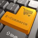 Tastatur mit E-Commerce-Taste.