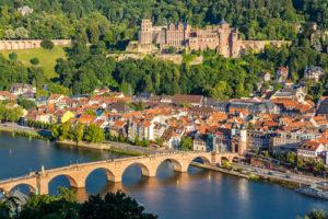Luftaufnahme von Heidelberg