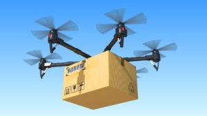 Drohnen werden über kurz oder lang definitiv einen Großteil des Versandhandels ausmachen – Umweltschutz ohne Umwege. fotolia.com © Komarov Andrey
