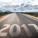 Straße auf der 2017 steht