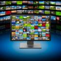 Fernseher mit Multimedia Bildern