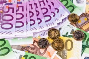 Viele Euroscheine