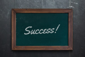 Erfolgreich sein