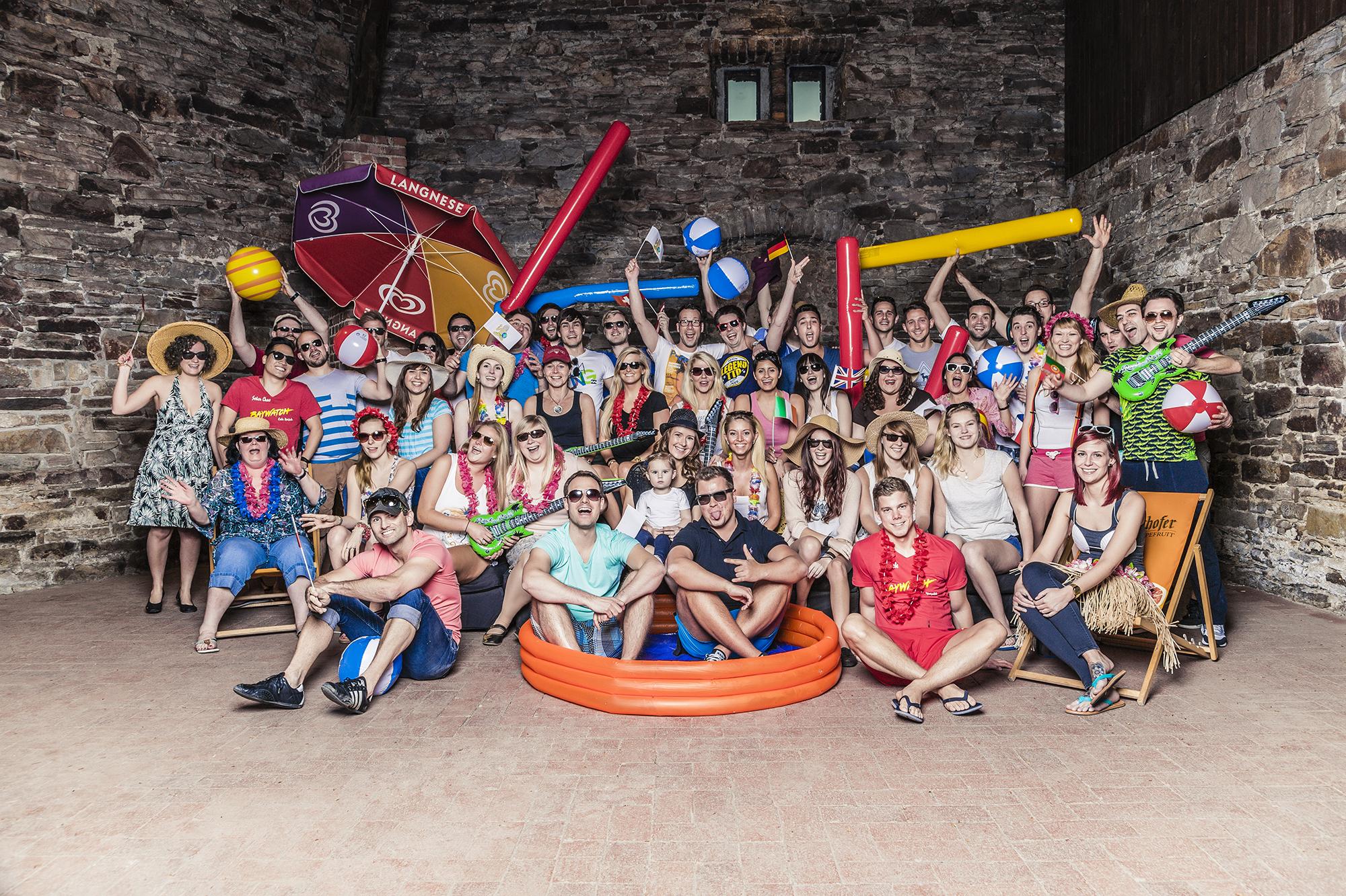 Das Team von Urlaubsguru/UNIQ GmbH. Foto: UNIQ GmbH