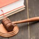 Holzhammer des Richters